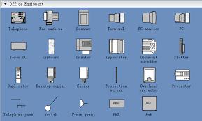 office floor plan symbols symbols for building plan office equipment