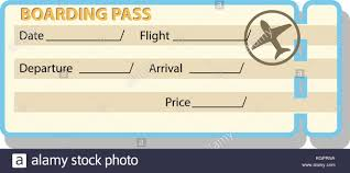 100 fake boarding pass template parking ticket template