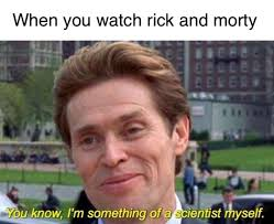 Meme Rick - 20 rick and morty memes to fill the empty hole in your life dorkly