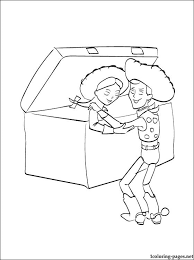 coloring toy story 2 kids coloring pages