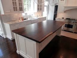 kitchen island wood countertop live edge wood countertops in a price modern countertops