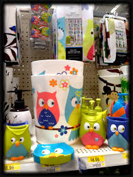 walmart owl set for the bathroom owls pinterest walmart