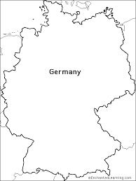 map of gemany outline map research activity 1 germany enchantedlearning