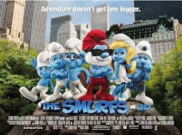 smurfs 3d cinemas august 10 free family event free