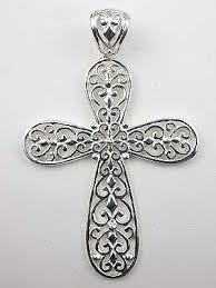 vintage cross necklace images Filigree vintage style cross necklace cr 3523 jpg
