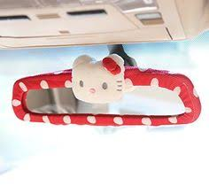 car accessory stretchy kitty leopard print car rear