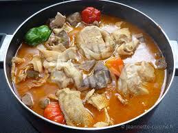 comment cuisiner le mouton pèpè soupe d abats et pattes de bœuf plat africain jeannette