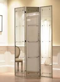 Glass Panel Room Divider Mirrored Room Divider Screen Foter