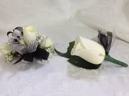 White Corsages For Prom Prom Corsage U0026 Boutonnieres Delivery Charleston U0026 South Charleston