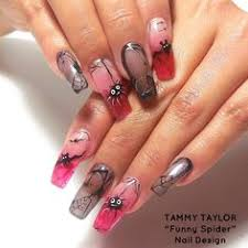 tammy taylor nail product pink and white sculpted nails no tips