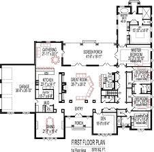 open floor plan blueprints 5 bedroom house plans open floor plan designs 6000 sq ft