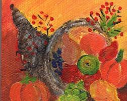 turkey haystack original aceo watercolor painting