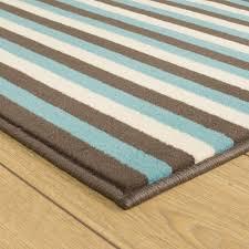 Blue Rug Runners For Hallways Brown Blue U0026 Cream Hallway Carpet Runner Striped
