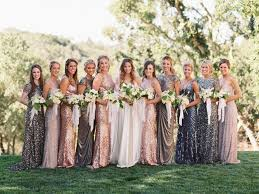 mix match bridesmaid dresses how to do mismatched bridesmaid dresses a practical wedding a