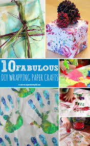 10 super fun homemade wrapping paper crafts that will make your