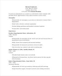 Cashier Resume Experience Sample Cashier Resume 7 Examples In Word Pdf