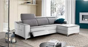 mobilier de canapé d angle canapé d angle astro avec chaise longue 1 relaxation électrique