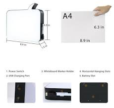 newest a4 lightbox l handwriting lights box led sign writing