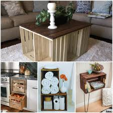 home project ideas brilliant things to do with old wooden crates