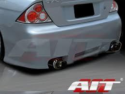 2005 honda civic trunk rev style rear bumper cover for honda civic 2001 2005 coupe
