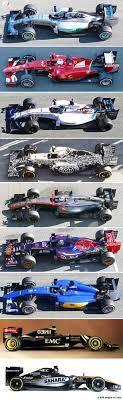 f1 cars all the 2015 f1 cars at a glance f1i com