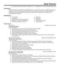 Resume Livecareer Automotive Resume Examples Automotive Sample Resumes Livecareer
