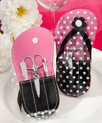 manicure set favors flip flop manicure set bridal shower favors from 1 08 hotref