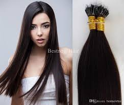 18 inch extensions 100g 18inch 20inch 22inch 2 darkest brown remy micro nano rings