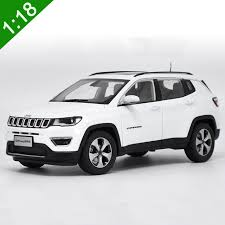 jeep cars white new 1 18 diecast model for jeep compass 2017 white suv alloy toy car