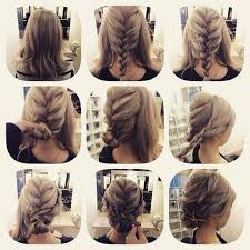 easy sexy updos for shoulder length hair fashionable braid hairstyle for shoulder length hair shoulder
