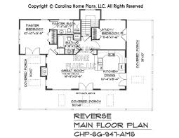 small country guest cottage house plan sg 947 ams sq ft