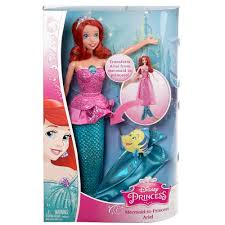 disney princess mermaid princess ariel doll 25 00 hamleys
