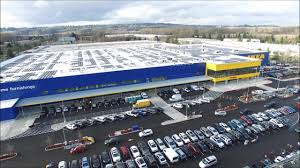 Seattle Times Traffic Flow Map by Ikea Almost Done Assembling Its Rejuvenated Renton Store The