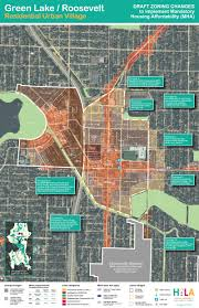 City Of Seattle Zoning Map by Draft Zoning Maps For Green Lake Green Lake