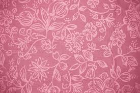 coral colored fabric with floral pattern texture picture free