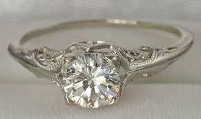 vintage rings wedding images Vintage bridal rings wedding promise diamond engagement rings jpg