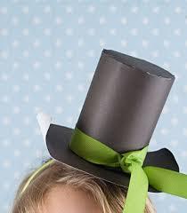 como hacer un sombrero de carton hacer un sombrero de copa de papel