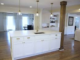 kitchen island post awesome kitchen island with post countertops l shaped bar islands