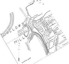 Rose Hills Map Gallows Hill Salem Witchcraft