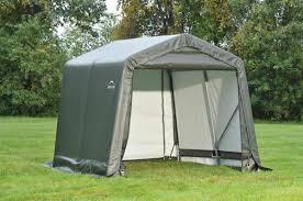 Portable Garages Shelterlogic 8x8 Peak Style Shelter 8 U0027 Tall 71802 71804