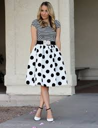 polka dot skirts karriebradshaw com style inspiration