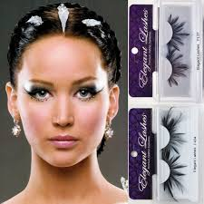 halloween eyelashes hunger games catching fire loves elegant lashes false eyelashes