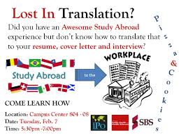 cover letter study abroad conferences and community events of public health and