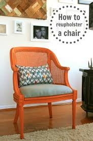 How To Reupholster A Bar Stool How To Reupholster A Chair C R A F T