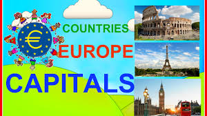 geography video for kids countries and capitals of europe for