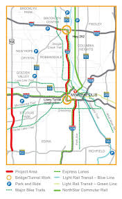 Minneapolis Metro Map by Get Around Move Minneapolis