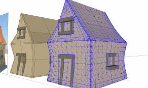 drawing a cartoon house 2 do i need to intersect faces