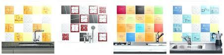 sticker pour carrelage cuisine decoration cuisine faaence carrelage mural metro blanc decoration