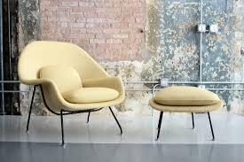 vintage womb chair by eero saarinen for knoll circa modern
