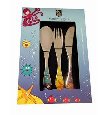 kids cutlery set marine david jones